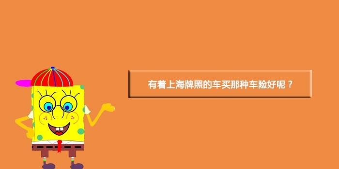 有着上海牌照的车买那种车险好呢?